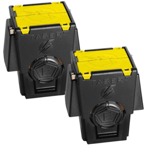 Taser 2 Pack Live Replacement Cartridges For X26P And M26C Front View