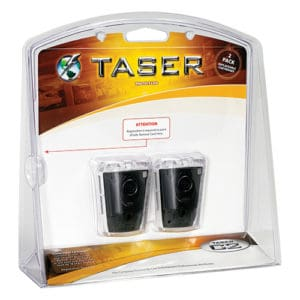 Taser Bolt, Pulse and C2 Replacement Cartridges Live 2 Pack
