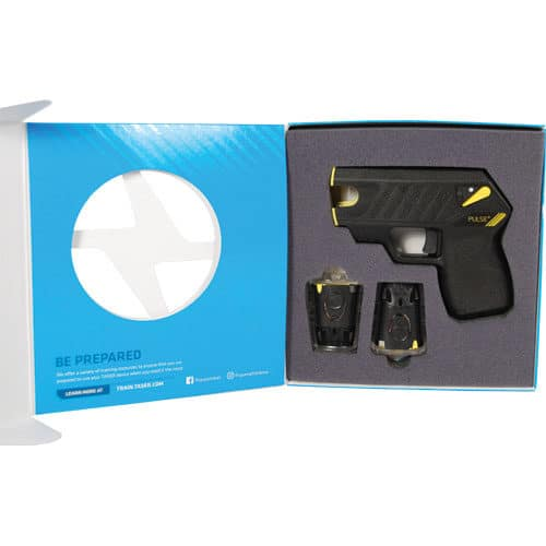 Taser® Pulse Plus With Laser, LED, 2 Live Cartridges In Case