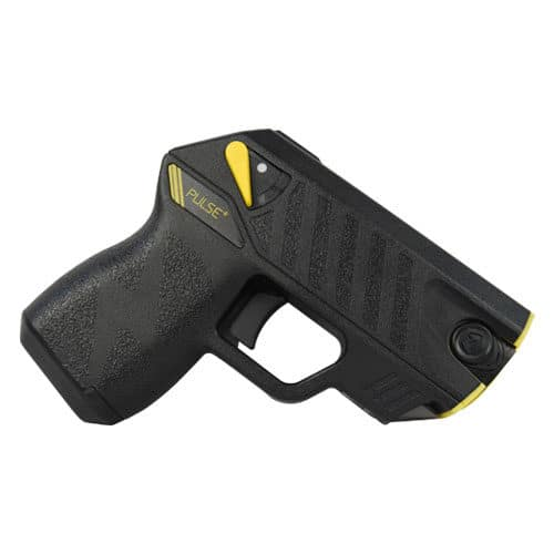 Taser® Pulse Plus With Laser, LED, 2 Live Cartridges Left Side View