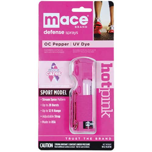 Mace® Pepper Spray Jogger – Pink In Package