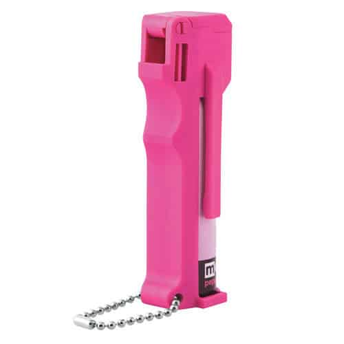 Mace® Personal Model Hot Pink 10% Pepper Spray Right Side View