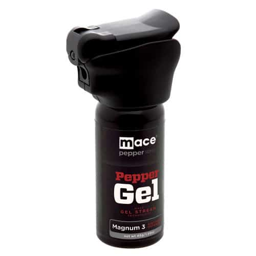 Mace® Pepper Gel Night Defender With Light Right Side View