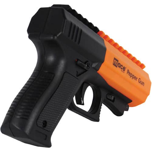 Mace® Brand Pepper Gun 2.0 Back Side View