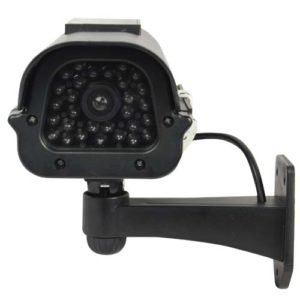 Dummy Solar Camera Front View Black