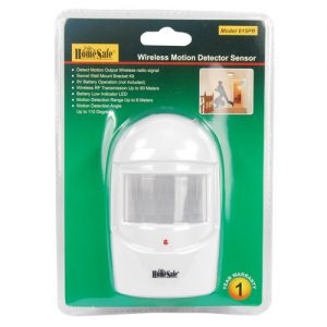 HomeSafe Motion Sensor In Package Front View