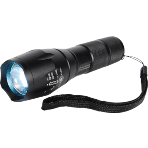safety-light Zoomable Flash Light Side View